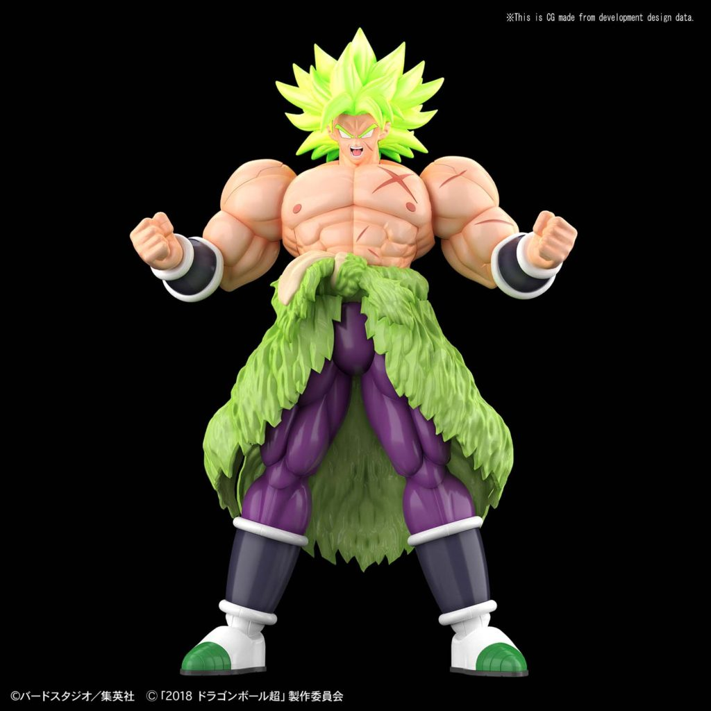 Broly Full Power Figure-Rise