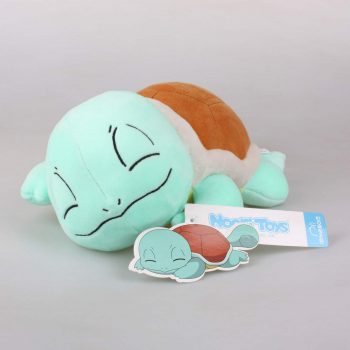 Sleeping Squirtle Plushie Pose 1