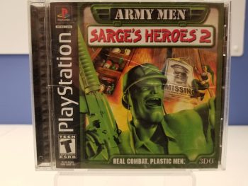 Army Men Sarges Heroes 2 Front