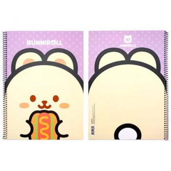 Bunniroll Wirebound Notebook
