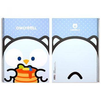 Owlyroll Wirebound Notebook