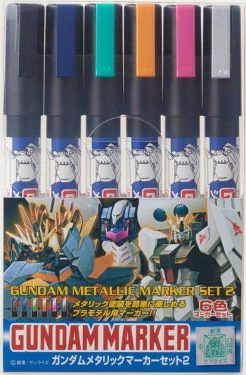 Gundam Metallic Marker Set 2 Box