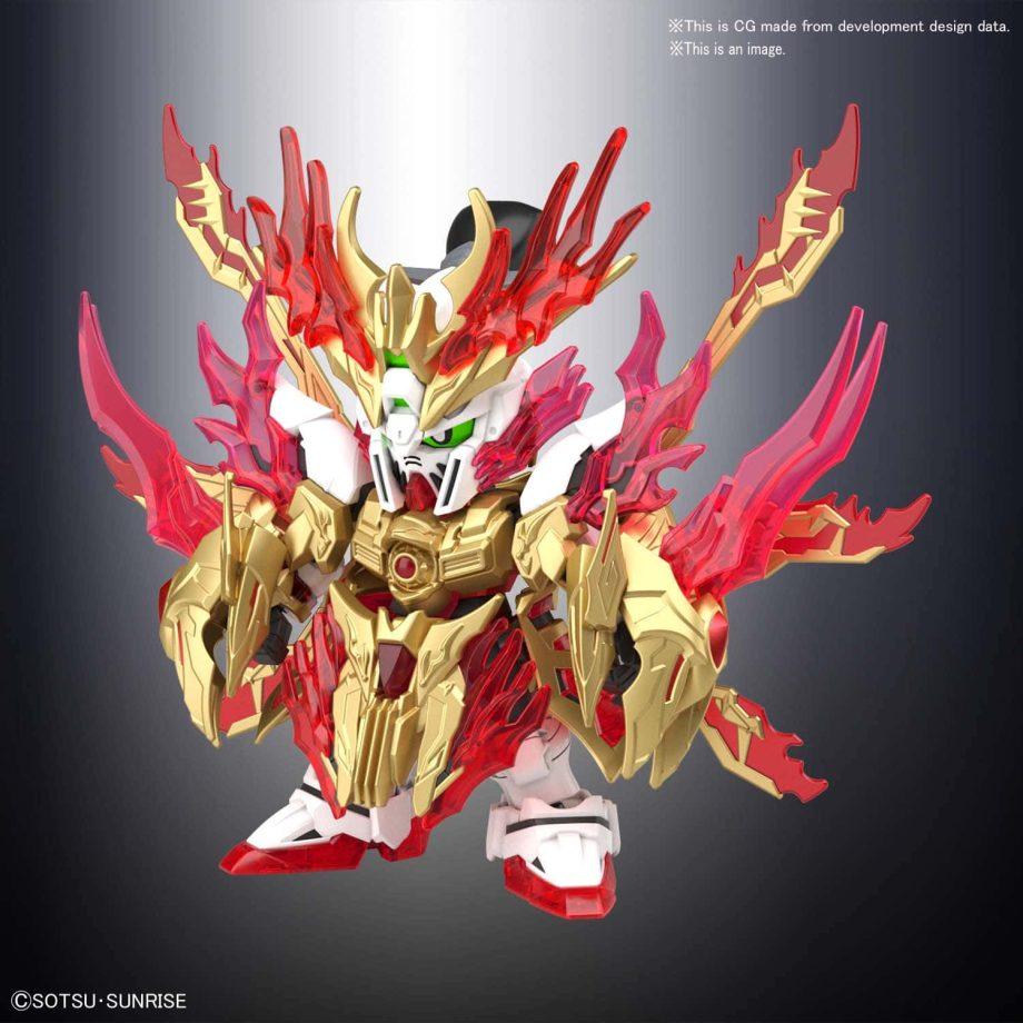 Yan Huang Zhang Fei God Gundam Pose 2
