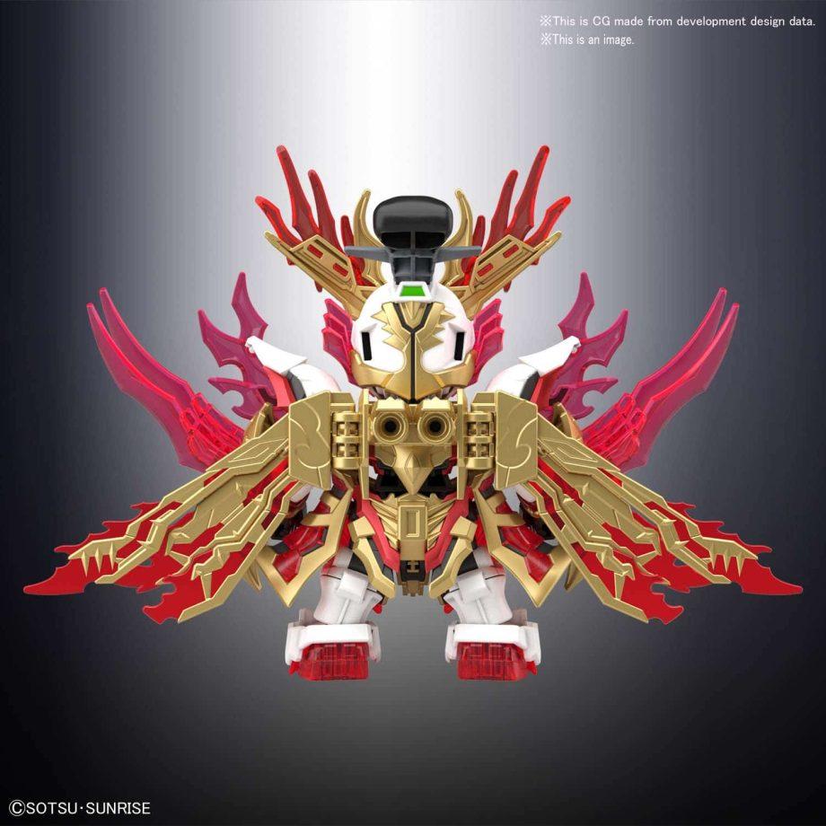 Yan Huang Zhang Fei God Gundam Pose 4