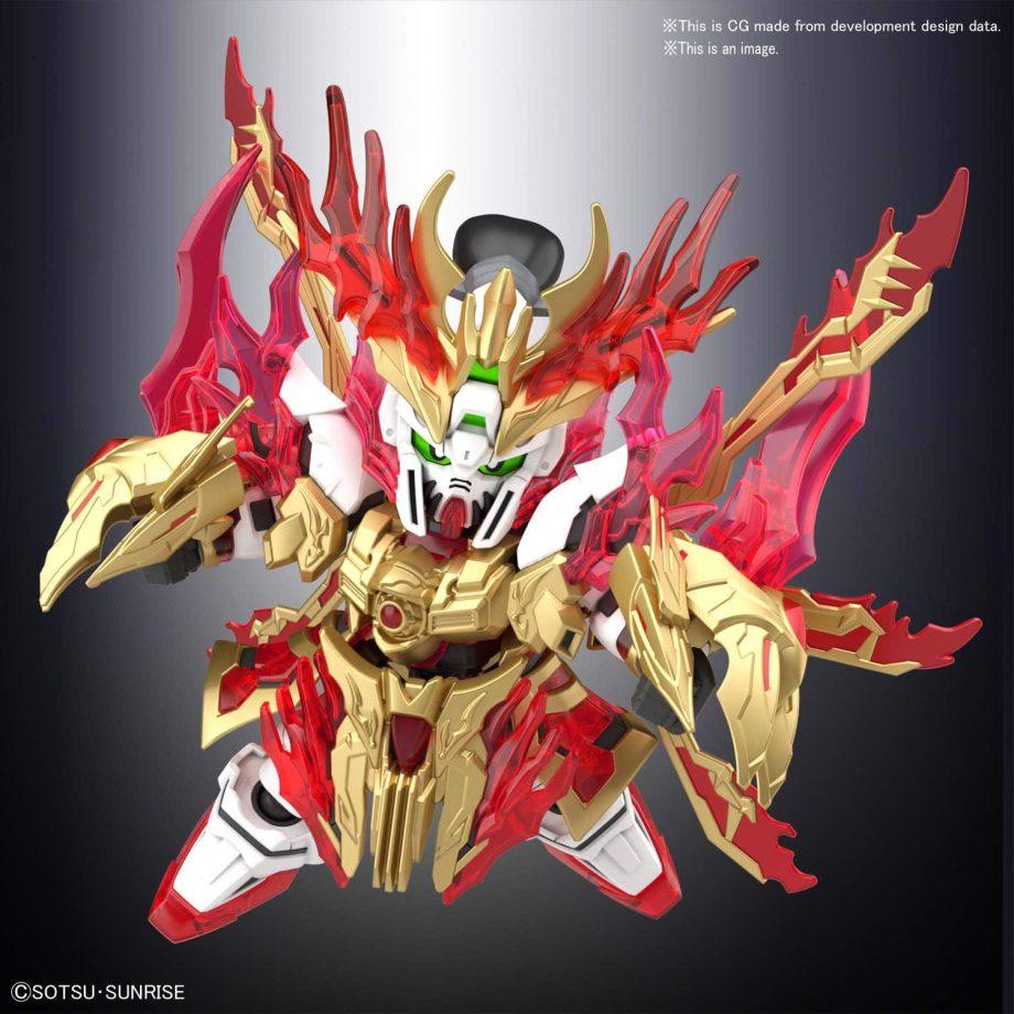 Yan Huang Zhang Fei God Gundam Pose 5