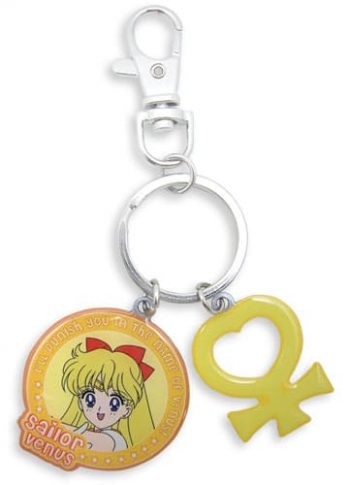 Sailor Venus & Symbol Metal Keychain