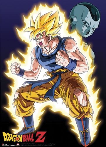 Super Saiyan Goku Wall Scroll