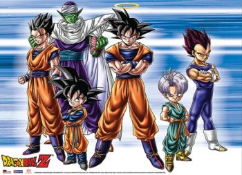 Dragon Ball Z: Group Wall Scroll