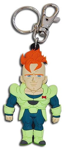 Android 16 PVC Keychain