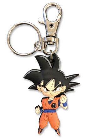 SD Goku PVC Keychain