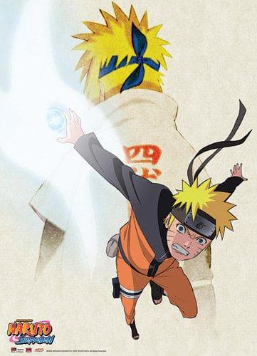 Naruto Shippuden: Father & Son Wall Scroll