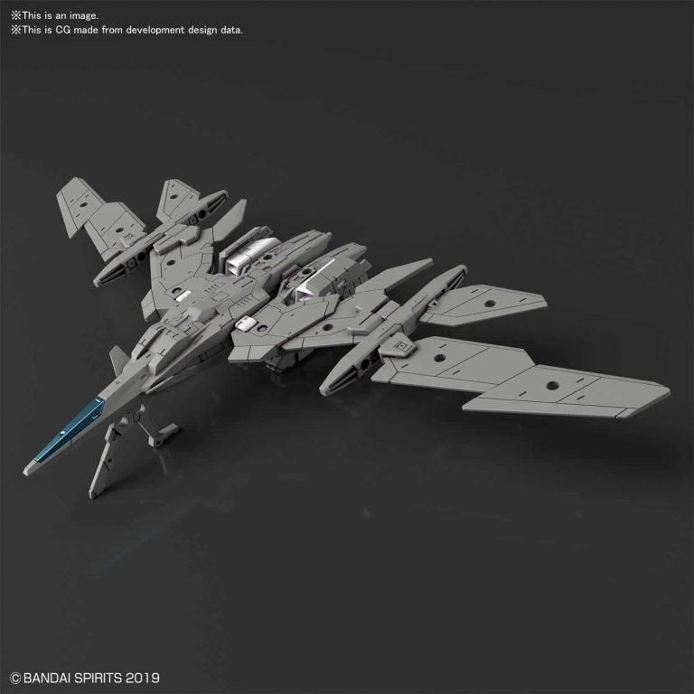 Extended Armament Vehicle Air Fighter Ver. Gray Pose 1