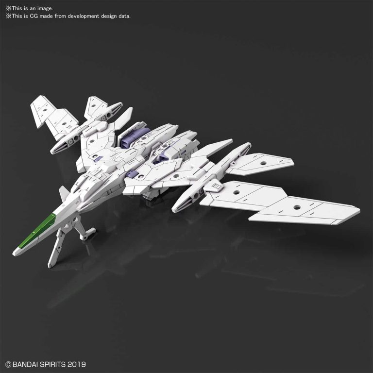 Extended Armament Vehicle Air Fighter Ver. White Pose 1