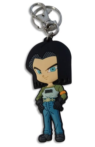 Dragon Ball Super: Android 17 PVC Keychain Pose 1