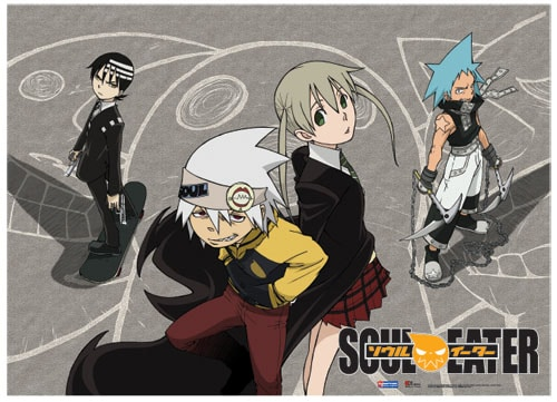 Soul Eater Playground Wall Scroll Pose 1