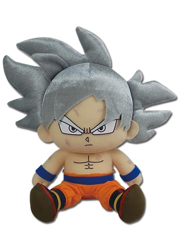 Ultra Instinct Goku Sitting Plush Pose 1