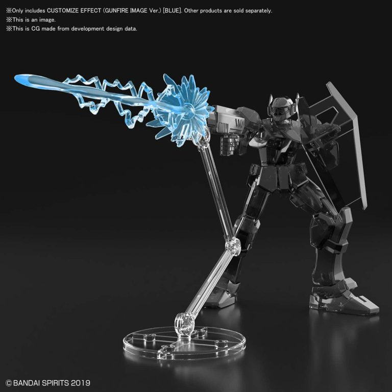 Customize Effect Gunfire Image Ver Blue Pose 1