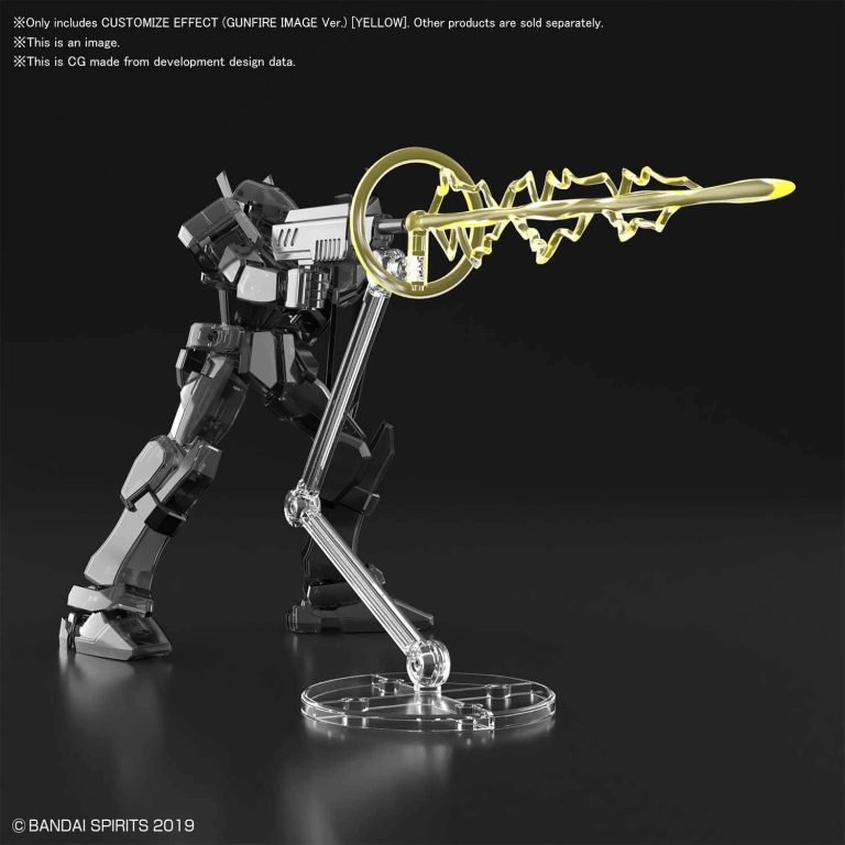 Customize Effect Gunfire Image Ver Yellow Pose 1
