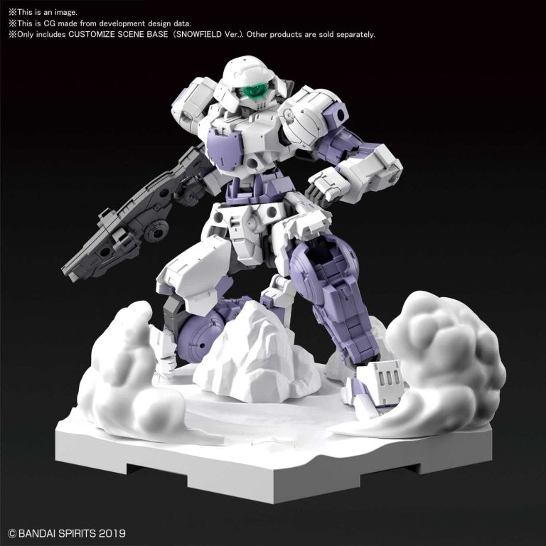 Customize Scene Base Snowfield Ver Pose 1
