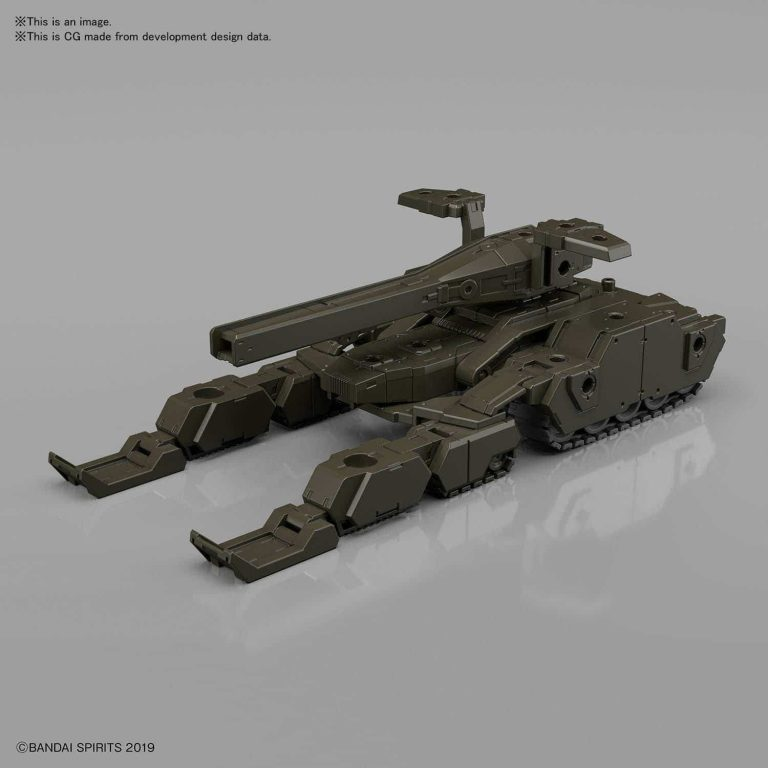 Extended Armament Vehicle Tank Olive Drab Pose 1